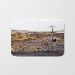 Post box, Iceland Bath Mat