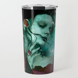 """""""The witch of the water forest"""" Travel Mug"""
