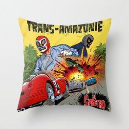 El Spectro - Trans Amazonie Throw Pillow