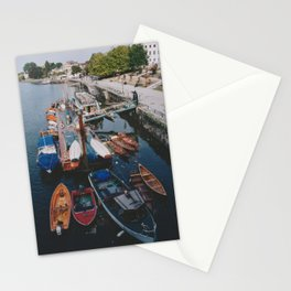 Thames boats Stationery Cards