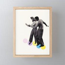 Dance Steps Framed Mini Art Print