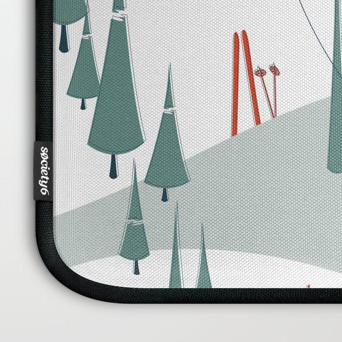 Retro Ski Laptop Sleeve