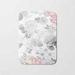 FLORAL DESIGN Bath Mat
