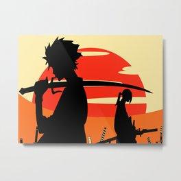 Sharp Like An Edge Of A Samurai Sword Metal Print