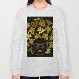 Afro Diva : Gold Long Sleeve T-shirt