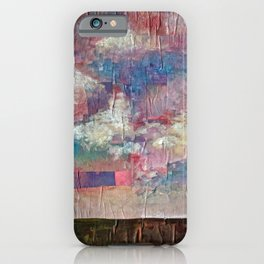 Imaginary Landscapes: Lighter Than Air iPhone Case