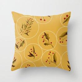 Cozy Baubles #society6 #xmas Throw Pillow