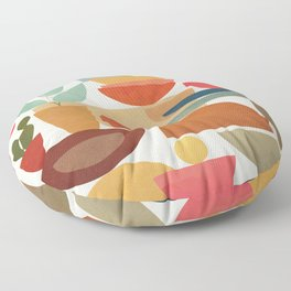 Modern Abstract Art 78 Floor Pillow