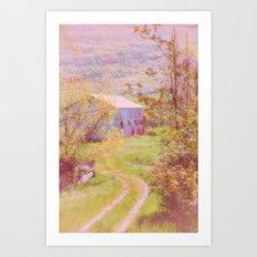Memories of the Farm Art Print