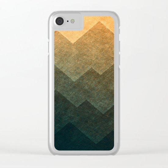 HillsHillsHills #3 Clear iPhone Case