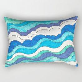 Make Waves II Rectangular Pillow
