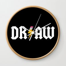 DR/AW Wall Clock