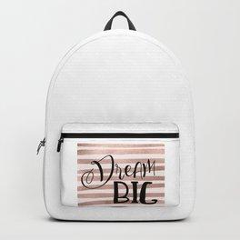 Dream big - rose gold Backpack