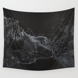 Wolf - The Uneasy Chill Wall Tapestry