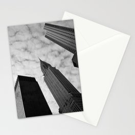NY clouds Stationery Cards