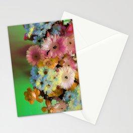 Floral Grunge Stationery Cards