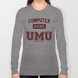 Camiseta Facultad Informática UMU Long Sleeve T-shirt