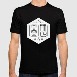 Settlers Line Art T-shirt