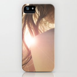 summer girl iPhone Case
