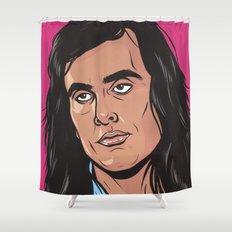 Samur-Eye Roll Shower Curtain