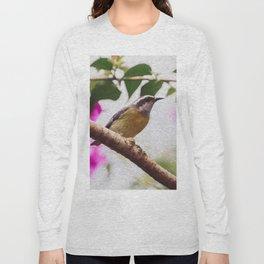 Bird - Photography Paper Effect 008 Long Sleeve T-shirt