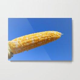 Corn on the Cob Metal Print