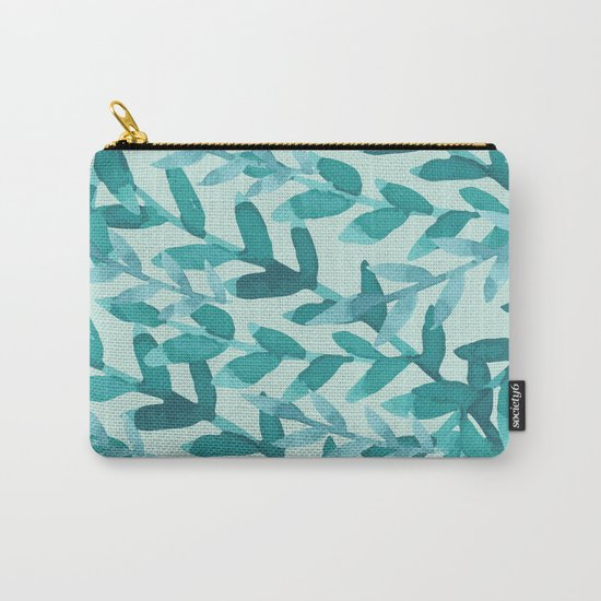 Lush Blue Carry-All Pouch