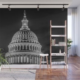 Politics are not Black & White Wall Mural