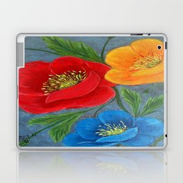 Poppies-3 Laptop & iPad Skin