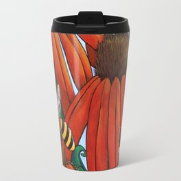 Bee Happy by DeeDee Draz Travel Mug