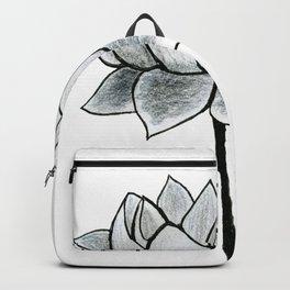 Grey Lotus Backpack