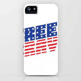 Free Brave iPhone Case