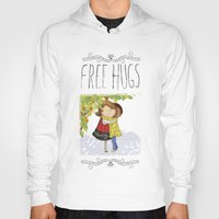 hug Hoodies featuring Hug by Rita Correia Illustrator