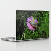 moth Laptop & iPad Skins featuring moth by giol's