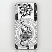 frog iPhone & iPod Skins featuring Frog by alicanto