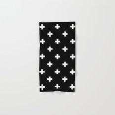 Swiss cross pattern Hand & Bath Towel