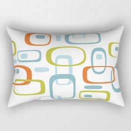1950s Retro Organic Pattern Rectangular Pillow