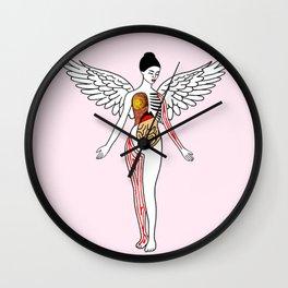 Nirvana In Utero Wall Clock