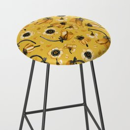 Honey Mustard Bar Stool