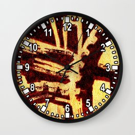 Industrious hell  Wall Clock