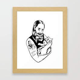 "Gylve ""Fenriz"" Nagell from Darkthrone Framed Art Print"