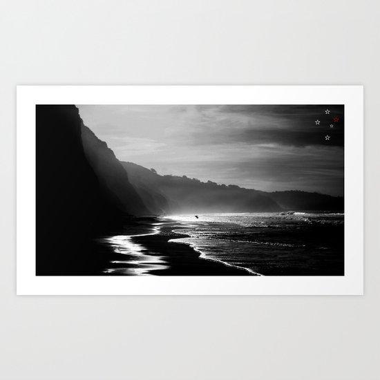 Black's Beach Art Print