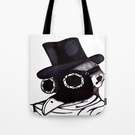 Plague Doctor Tote Bag