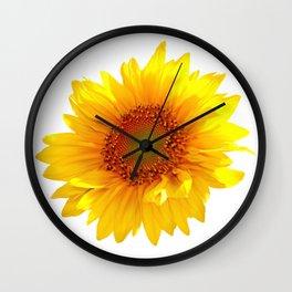 Sunflower 11 Wall Clock