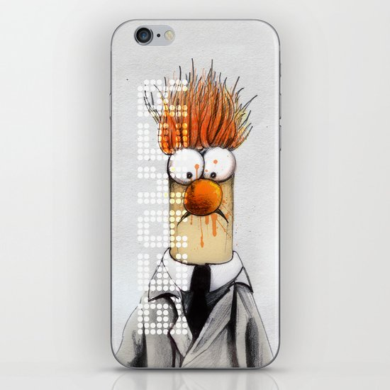 Beaker  iPhone & iPod Skin