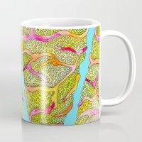 seashell Mugs featuring Seashell by Lupimazz