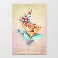 Triangle Rush! Canvas Print