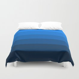 Deep Blue Sea - Color Therapy Duvet Cover