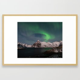 Luck & Patience in the Arctic Framed Art Print