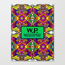 WP - Widespread Panic - Psychedelic Pattern 1 Canvas Print